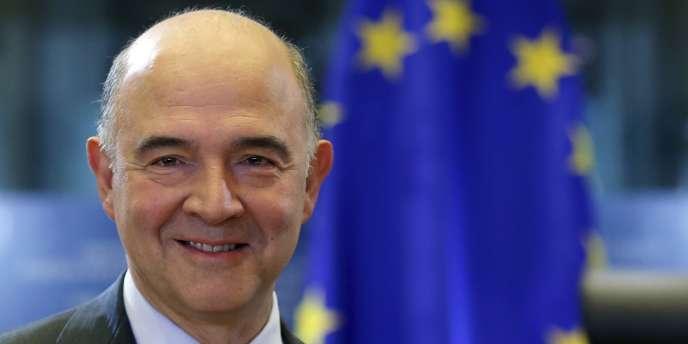 Pierre Moscovici à Bruxelles, le 2 octobre.