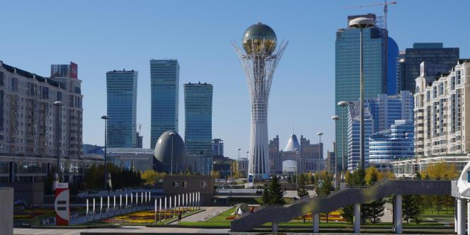 Astana est la capitale du Kazakhstan depuis 1997.