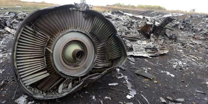 Le vol MH 17 s'est écrasé le 17 juillet dans l'est de l'Ukraine, où les combats entre forces loyalistes et séparatistes faisaient alors rage.