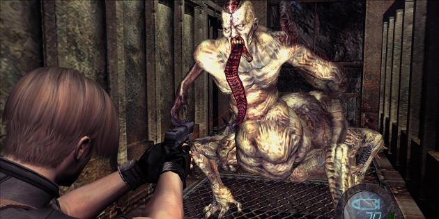 «Resident Evil 4» (GameCube, 2004).