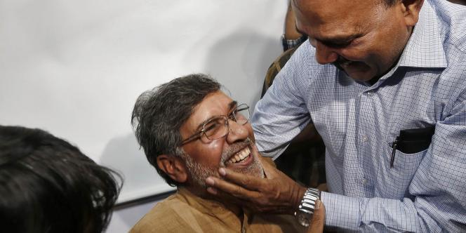 L'Indien Kailash Satyarthi est récompensé pour sa lutte contre le travail des enfants.