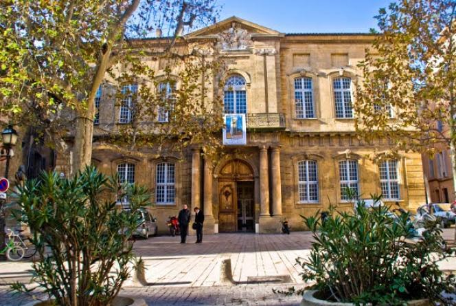L'entrée de l'IEP d'Aix-en-Provence.