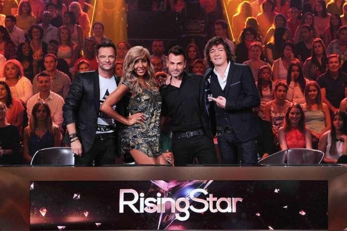 Les jurés de Rising Star sur M6.