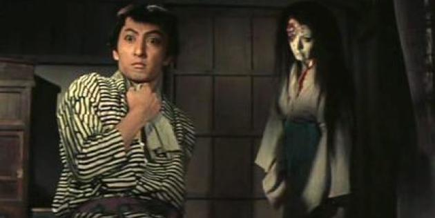 Extrait de l'adaptation au cinéma de «Yotsuya Kaidan» (1956).