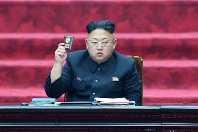 Kim Jong-un le 9 avril 2014.