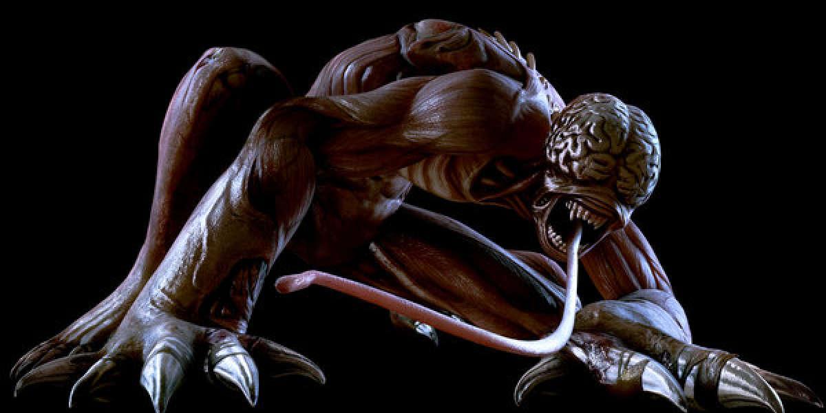 Le Licker, une des créatures emblématiques de la saga «Resident Evil».