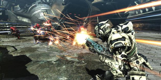 «Vanquish» (PlayStation3 et Xbox 360, 2010).