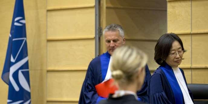 A la Cour pénale internationale, le 8 octobre 2014.