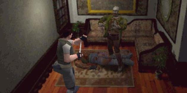 «Resident Evil» (PlayStation, 1996).