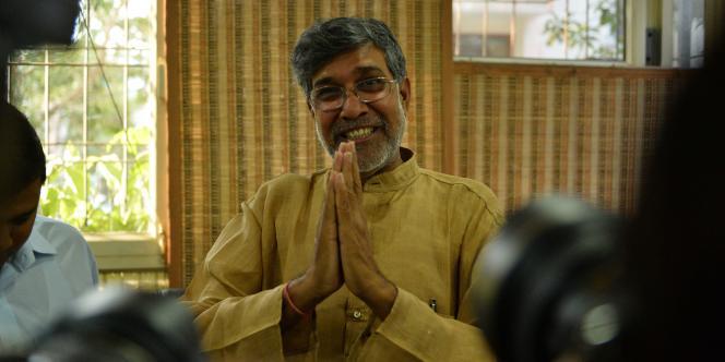 Kailash Satyarthi, Prix Nobel de la paix 2014.