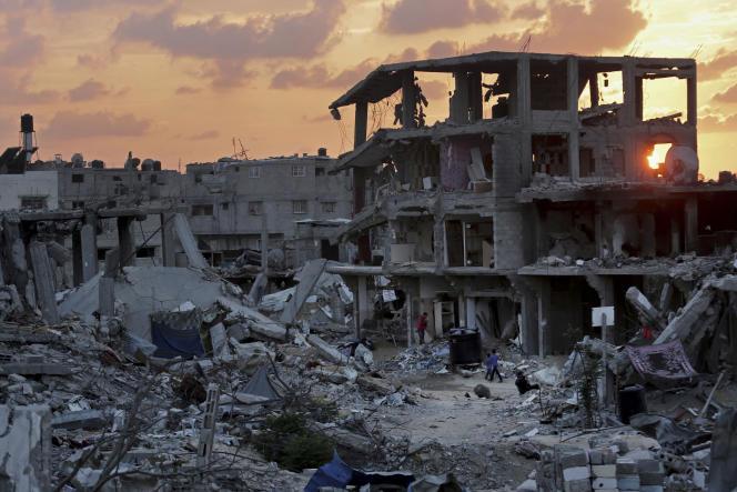 A Gaza, le 12 octobre.
