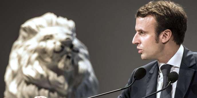 Le ministre de l'économie, Emmanuel Macron, le 9 octobre.