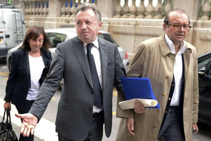 Jean-Noël Guérini, à Marseille, le 13 octobre.