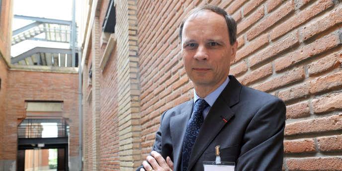 Jean Tirole, président de la Toulouse School of Economics, en juin 2008.