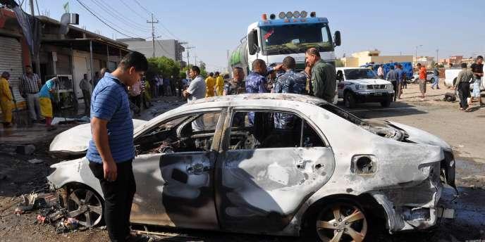 Un attentat à la voiture piégée, le 13 octobre à Kirkouk.