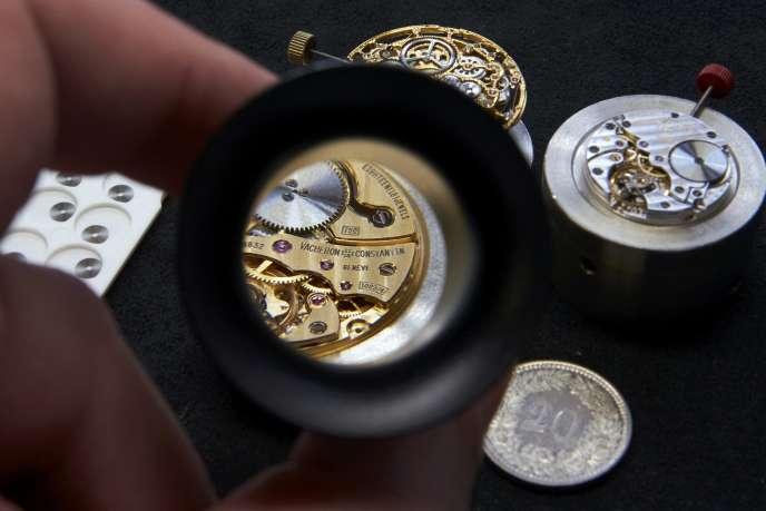 Les montres Vacheron sont au portefeuillle du groupe de luxe Richemont.