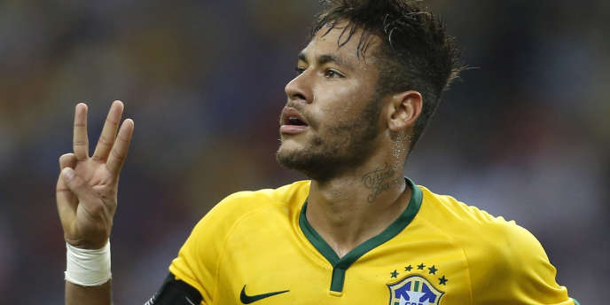 Neymar lors du match amical face au Japon, le 14 octobre.