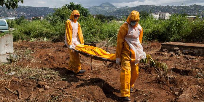 La Guinée, le Liberia et la Sierra Leone sont les trois pays les plus touchés par Ebola.