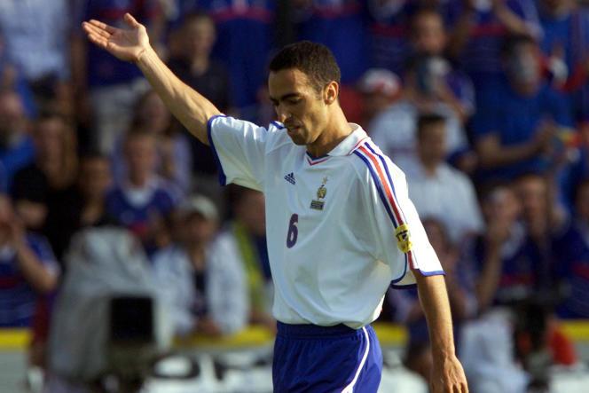 Youri Djorkaeff, le 16 juin 2000.