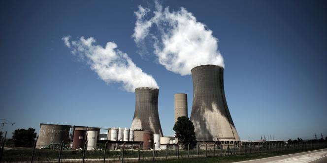 La centrale nucléaire de Tricastin à Bollene dans la Drôme.