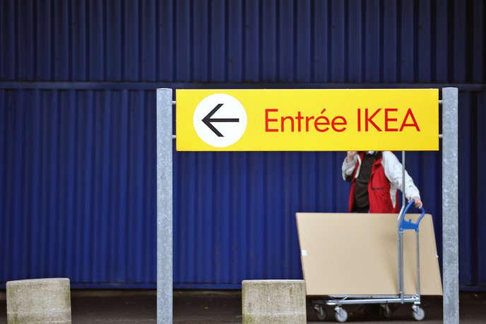 Un magasin Ikea en France, en février 2012.