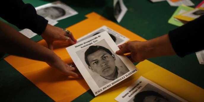 Photo de l'un des étudiants disparus depuis le 26 septembre à Iguala, au Mexique.