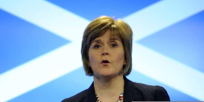 Nicola Sturgeon, 44 ans, était la seule prétendante à la succession d'Alex Salmond à la tête du Parti national écossais.