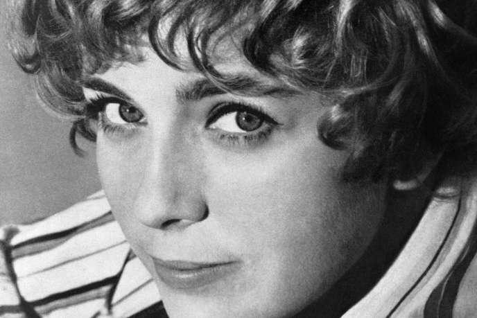 L'actrice Marie Dubois, en 1968.