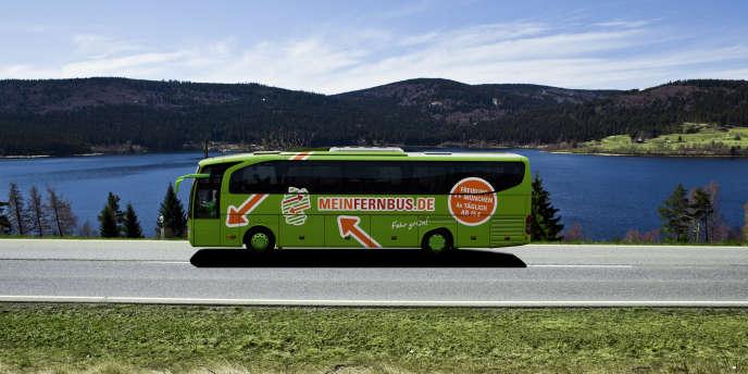 MeinFernbus contrôle 47 % du marché allemand du transport interrégional par car.