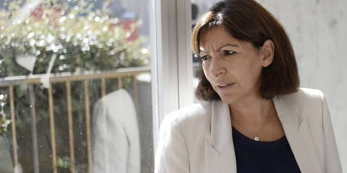 La maire de Paris Anne Hidalgo, le 18 septembre 2014.