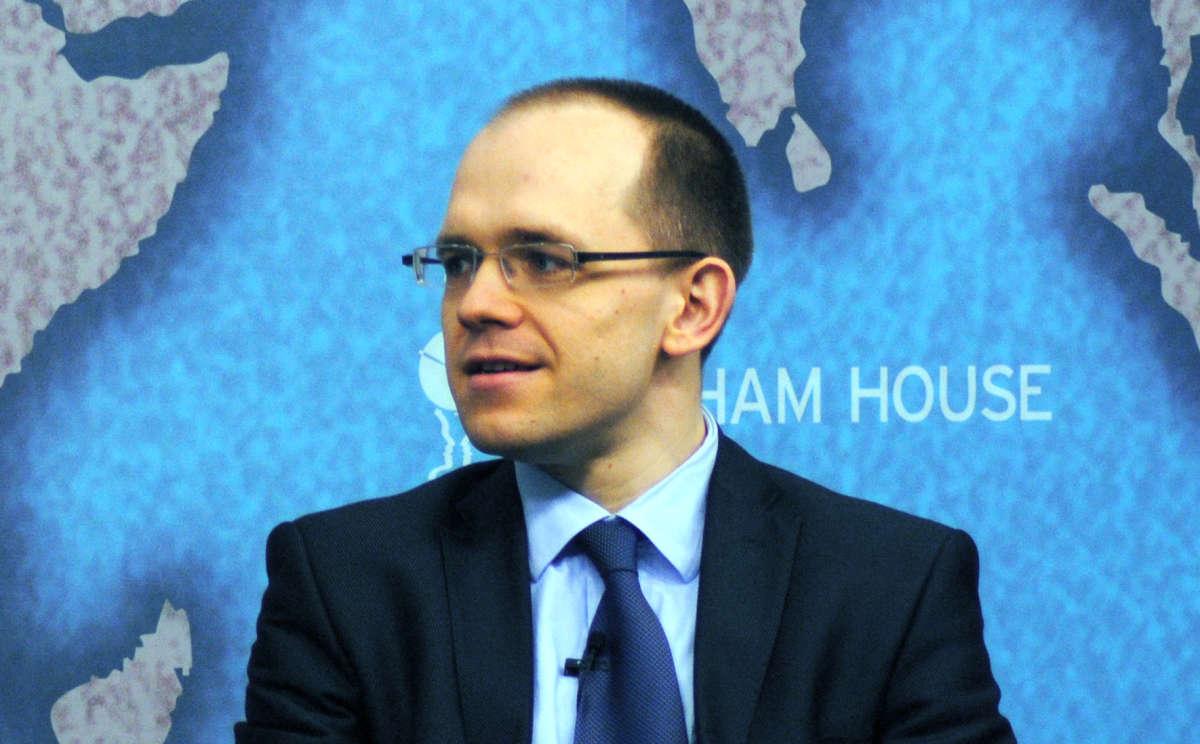 Evgeny Morozov lors d'une conférence à Londres en mars 2013.