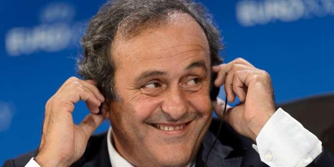 Michel Platini, le 19 septembre à Genève.