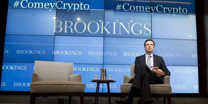 Le patron du FBI James Comey, le 16 octobre à Washington.