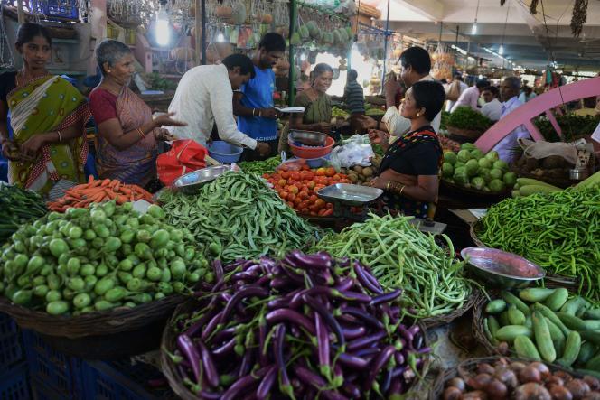 A Hyderabad, en Inde, le 16 octobre.