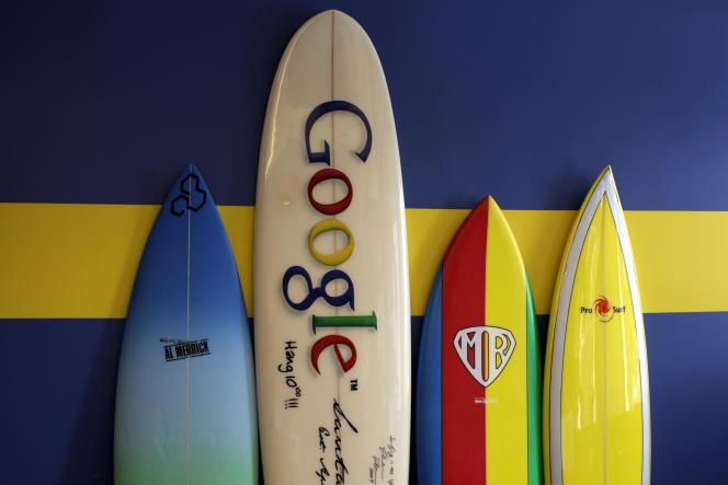 Dans les bureaux de Google de Santa Monica, près de Los Angeles, en 2010.