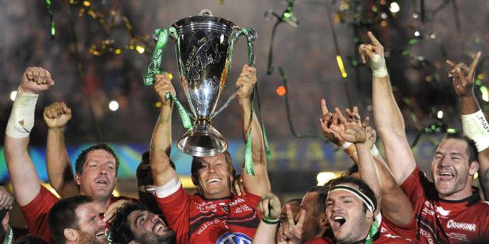 Double tenant du titre, Toulon pourrait remporter une troisième Coupe d'Europe contre Clermont au mois de mai.