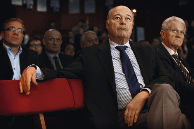 Jean-Michel Baylet à Paris en juin 2013.