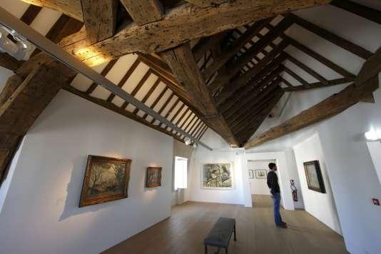 Un nouvel étage avec des salles d'exposition a été aménagé sous les combles, au Musée Picasso.