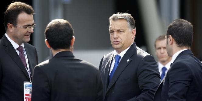Le premier ministre hongrois, Viktor Orban, le 16 octobre à Milan, en Italie.