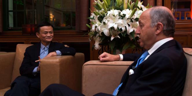 Jack Ma a indiqué à Laurent Fabius réfléchir à l'ouverture d'une plateforme logistique pour livrer les produits européens vers les consommateurs chinois.