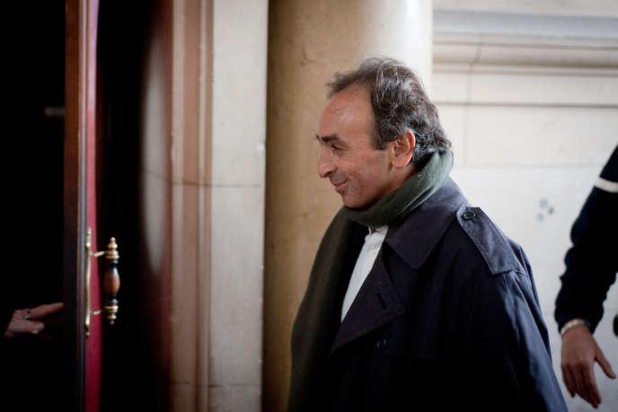Le journaliste Eric Zemmour avait déjà comparu le 14 janvier 2011 au tribunal de Paris pour provocation à la haine raciale.