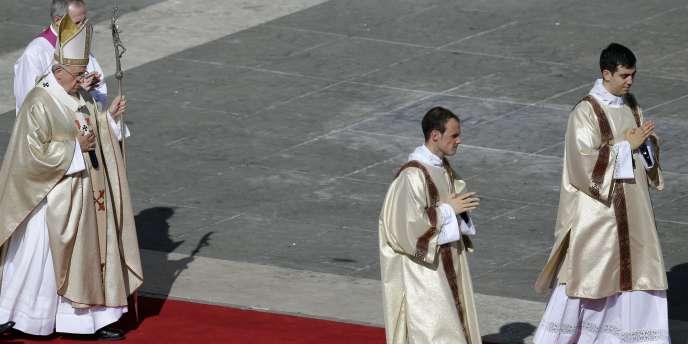 Le pape Paul VI a été béatifié, dimanche 18 octobre 2014.
