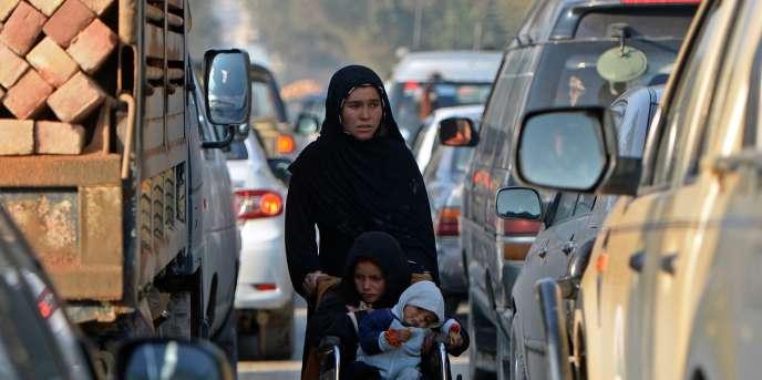 Une femme afghane à Kaboul le 20 octobre 2014.