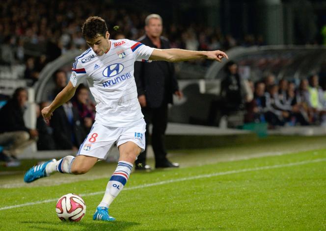Le milieu de terrain Yoann Gourcuff, dimanche 19 octobre, face à Montpellier.