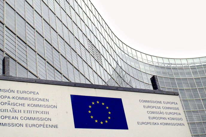 Siège de la Commission européenne en 2002.