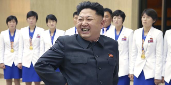 Le dirigeant nord-coréen Kim Jong-un, sur une image non datée, publiée le19octobre.