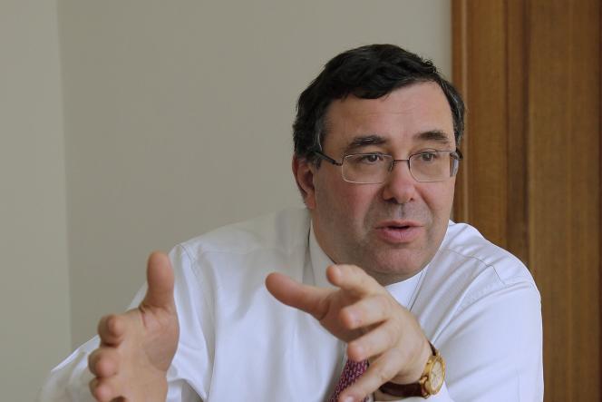 Patrick Pouyanné, actuel directeur général de la branche raffinage-chimie de Total.