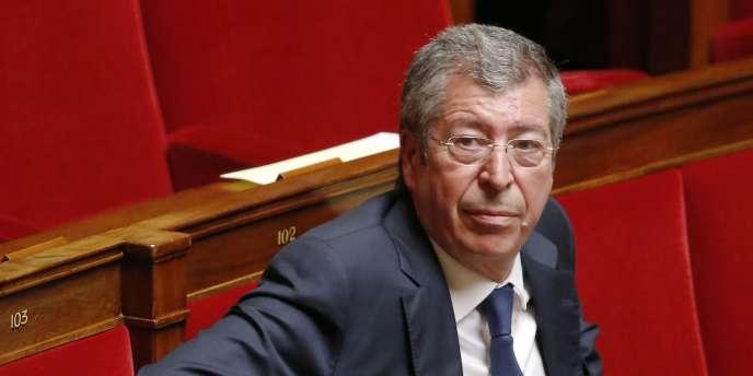 Le député et maire UMP de Levallois-Perret, Patrick Balkany.