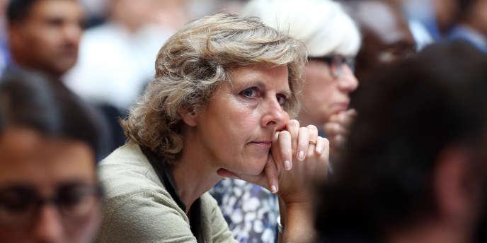 La commissaire européenne au climat, Connie Hedegaard, en juillet 2014.