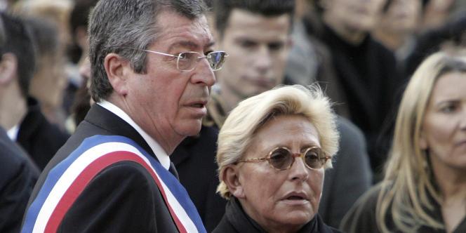 Patrick et Isabelle Balkany, en novembre 2009 à Levallois-Perret.